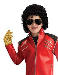 Kids Michael Jackson Gold Glove   Michael Jackson Costume Accessories