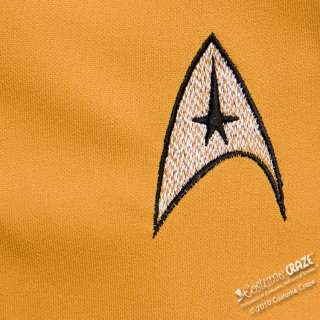 Deluxe Adult Star Trek Gold Dress Costume   Star Trek Costumes