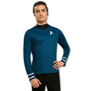 for Star Trek Movie (2009) Grand Heritage Blue Shirt Adult Costume