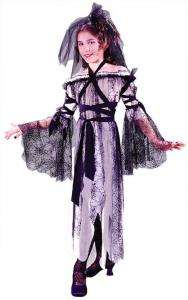 Black Widow Bride Child Costume   Kids Costumes