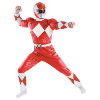 Power Rangers   Red Ranger Classic Adult Costume