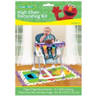 Halloween Costumes Sesame Street 1st   High Chair Decorating Kit