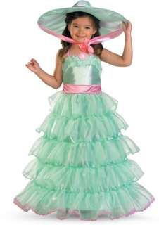 Southern Bell! Sweet Southern Charm! Costume Includes: Tiered dress