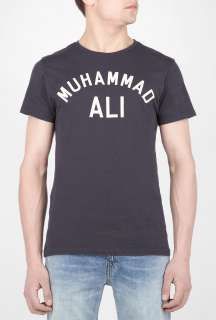 Black Muhammad Ali Butterfly Bee T Shirt by Worn Free   Black   Buy T