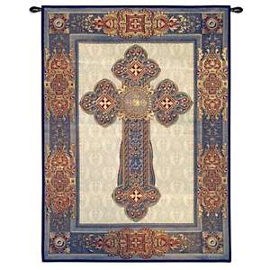 Gothic Cross 38 x 53 Elegance Tapestry Wall Hanging
