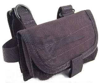 Mil Spec 8 Round Shotgun Buttstock Pouch Black