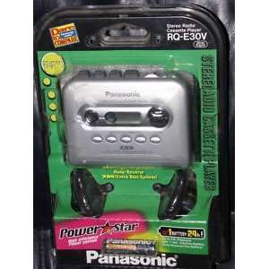 PANASONIC RQ E30V STEREO RADIO CASSETTE PLAYER Electronics