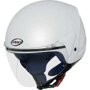 Suomy Jet Light Helmet , Color White Pearl, Size XS