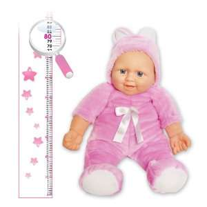 40 Tall Baby Doll dressed in Plush Rabbit Costume  Pink Toys & Games