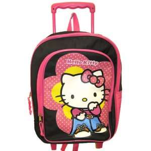 Sanrio Hello Kitty Girls Rolling School Backpack Large Toys & Games