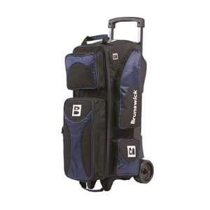 Flash 3 Ball Roller Navy / Black Bowling Bag