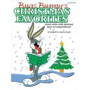 Bugs Bunnys Christmas Favorites Piano Solos with Optional Duet