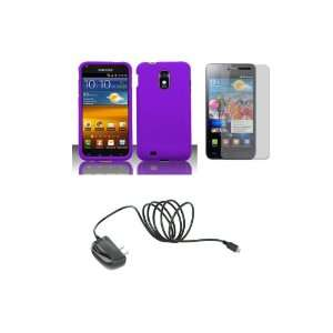 4G Touch (Sprint) Premium Combo Pack   Purple Hard Shield Case Cover