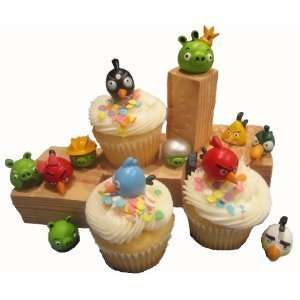 : Angry Birds & Pigs Cake   Cupcake Toppers Decorations: Toys & Games