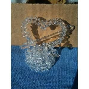 Heart Ornament, Valentines Day, Wedding Cake Topper