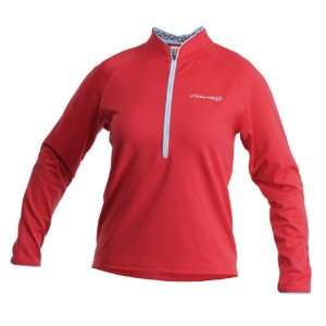 Cannondale Womens Midweight Cycling Jersey (Red, Medium)