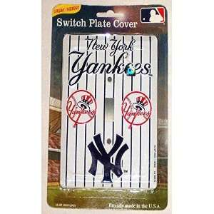New York Yankees Single Light Switch Cover