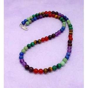 18 inch Chakra Beaded Necklace Everything Else