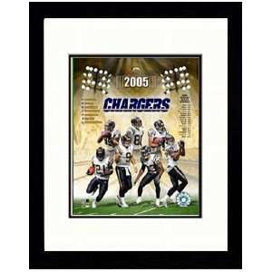 2005 San Diego Chargers Team Composite Photograph.  Sports