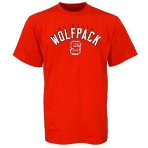 North Carolina State Wolfpack Red Cobra T shirt