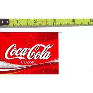 Medium Square Size Coca Cola Logo Soda Vending Machine Flavor Strip