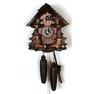 Cuckoo Clock Black Forest House, Bears