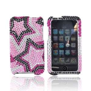 For Apple iPod Touch 2 & 3 Bling Case   Star Patterns