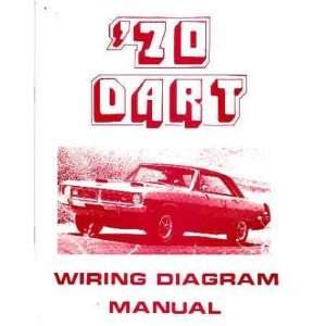 1970 DODGE DART Wiring Diagrams Schematics: Automotive