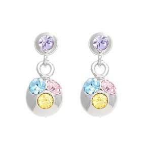 Perfect Gift   High Quality Sparkling Disco Ball Earrings