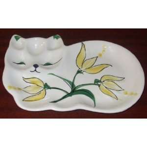 Royal Sealy Cat Shaped Dish Plate Made in Japan