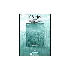 Its Your Love (Easy Piano, Sheet music): Faith Hill, Tim