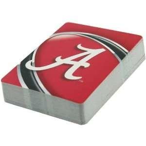 Alabama Crimson Tide Big A Playing Cards  Sports