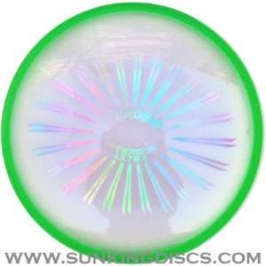 Aerobie Superdisc Ultra Flying Disc   Green Toys & Games