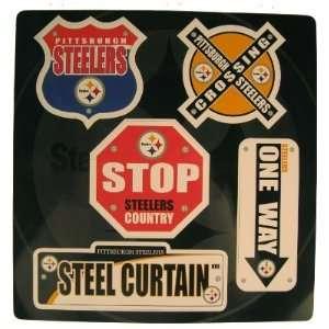 Pittsburgh Steelers Football Club 12 Sheet of Street Sign