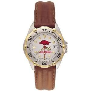 Kings All Star Ladies Black Leather Strap Watch