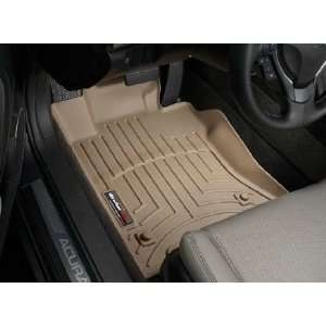 Tan WeatherTech Floor Liner (Full Set) [Equipped with All Wheel Drive