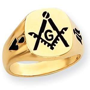 Masonic Signet Ring   14k Gold/14kt yellow gold Jewelry