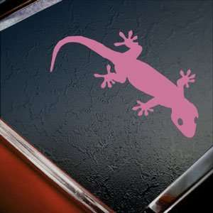 Gecko Pink Decal Car Truck Bumper Window Vinyl Pink
