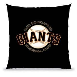 San Francisco Giants MLB 12 x 12 in Souvenir Pillow