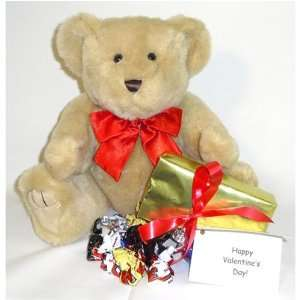 Red, Pink or Blue Bow, Box of Chocolates, and Gift Note Toys & Games