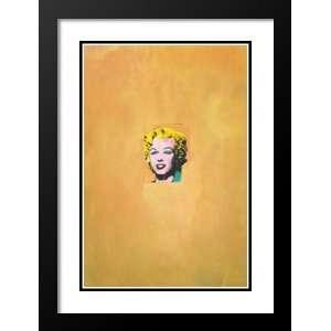 Pop Art 29x29 Gold Marilyn Monroe, 1962