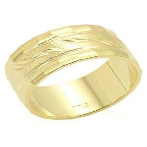 Size 9 Brass Gold Plated Ring AM Jewelry