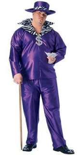 Purple Big Daddy Mens Costume Adult Halloween Outfit