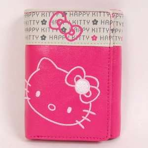 Hello Kitty Trifold Mini Wallet Coin Purse Billfold Rose Toys & Games