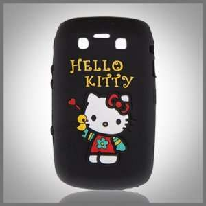 Hello Kitty Embossed Black Flexa silicone case cover for