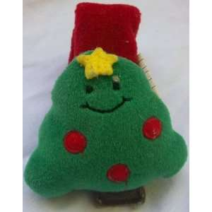 Holiday Christmas Tree Baby Wrist Rattle Toy Toys & Games