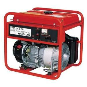 Start 2500 Watt Honda GX160 Portable Generator Patio, Lawn & Garden