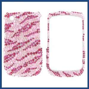 Diamond Hot Pink/Pink Zebra Protective Case Cell Phones & Accessories