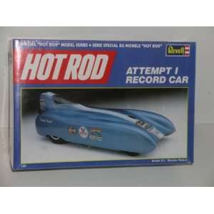 Hot Rod Series Attempt I Record Car    Plastic Model Kit