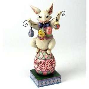 Jim Shore Bunny So Funny Easter Rabbit Eggs